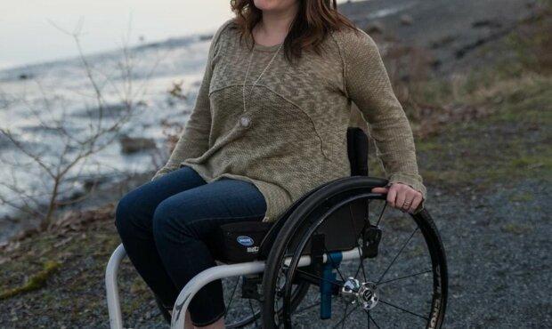 Niepełnosprawna kobieta/Youtube