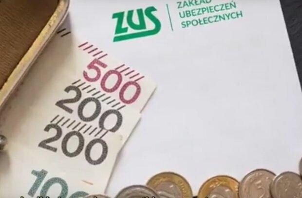 pieniądze z ZUS / YouTube: Aktualności 360