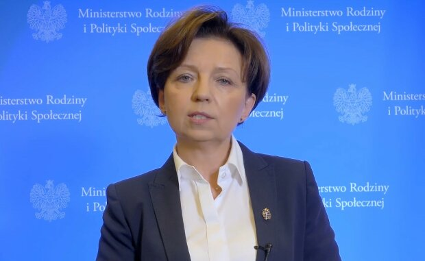 Marlena Maląg/screen Youtube @Ministerstwo Rodziny i Polityki Społecznej
