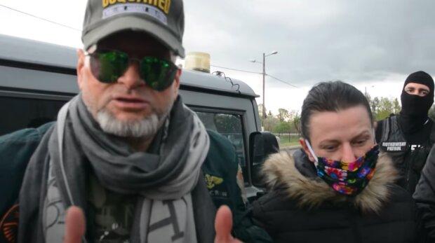 Krzysztof Rutkowski i mama Kacperka / screen YouTube