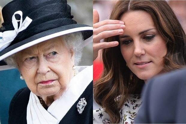 Księżnej Kate zabrakło na ważnym spotkaniu z królową Elżbietą II. Jej absencja miała ważny powód