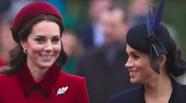 Księżna Kate i Meghan Markle / YouTube:  The List