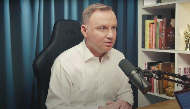 Prezydent Andrzej Duda / YouTube:  Imponderabilia