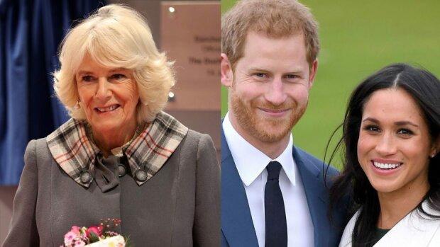 Księżna Camilla nie przepada za Meghan Markle. Jej ostatnia wypowiedź musiała poruszyć księcia Harry'ego