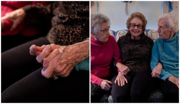 Poznaj trzech przyjaciółek, którzy są razem od 100 lat