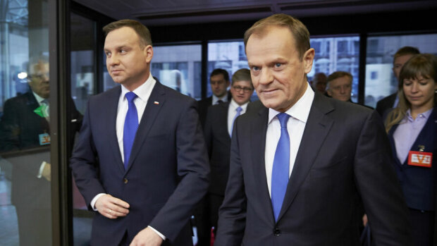 Andrzej Duda, Donald Tusk