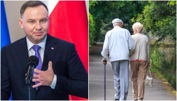 """Prezydent nie zostawi emerytów samych sobie. Zamierza doprowadzić do wypłacenia """"trzynastek"""" za wszelką cenę"""