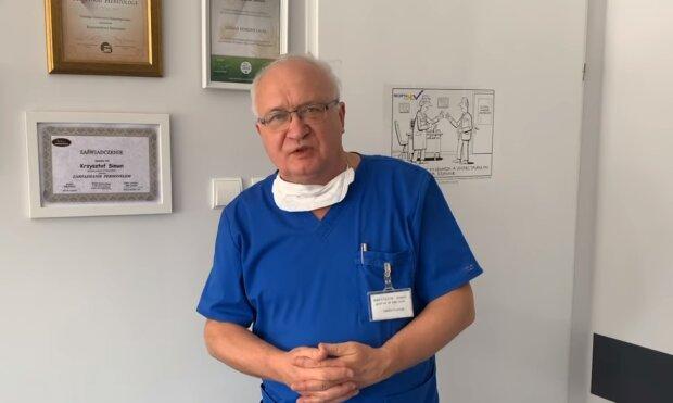 Prof. Krzysztof Simon/YouTube @Telewizja Echo24