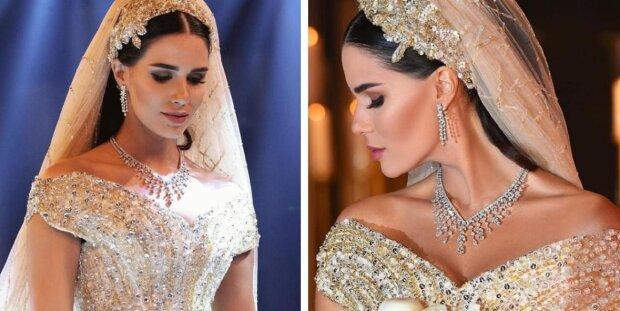 Przez sześć miesięcy panna młoda szyła sukienkę swoich marzeń, która przerosła wszelkie oczekiwania!