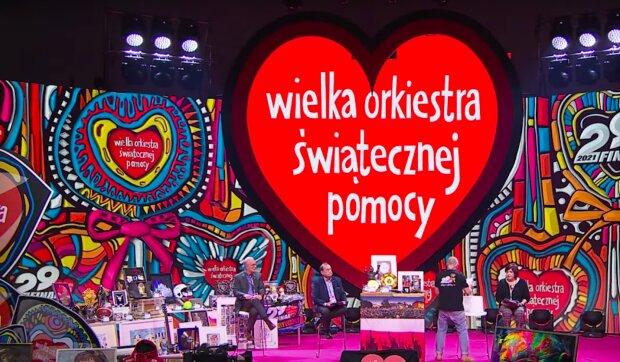 Wielka Orkiestra Świątecznej Pomocy / YouTube:  Onet News