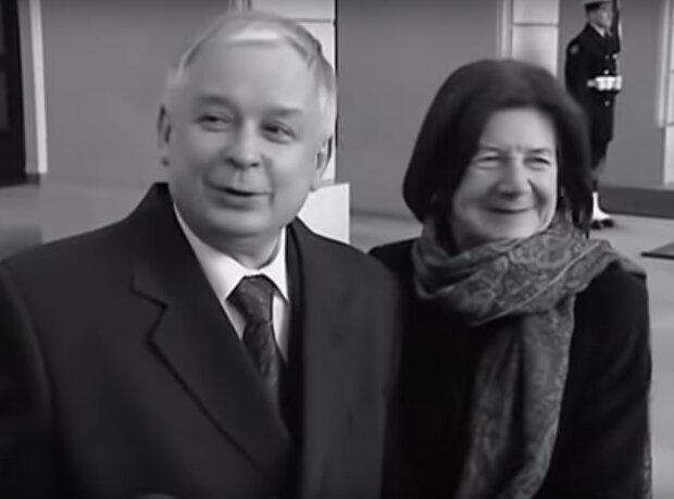 Lech i Maria Kaczyńscy / YouTube: dziast17