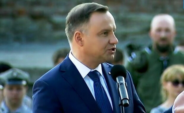 Andrzej Duda/screen Youtube @TVP Parlament