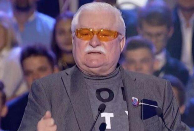 Lech Wałęsa/screen YouTube @Telewizja Republika