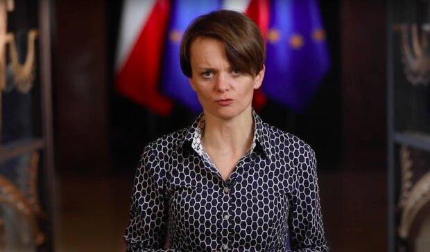 Jadwiga Emilewicz / YouTube:  Kancelaria Premiera