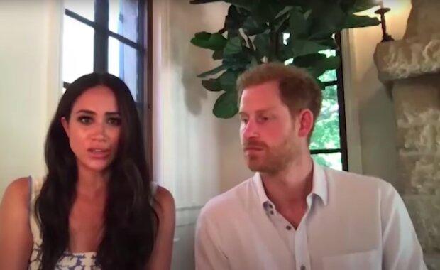 Meghan Markle i książę Harry / YouTube:  Entertainment Tonight