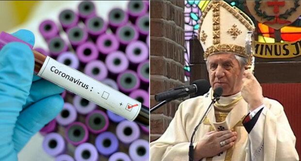 Arcybiskup Andrzeja Dzięga nie przejmuje się zarządzeniem władz Polski/screen Youtube