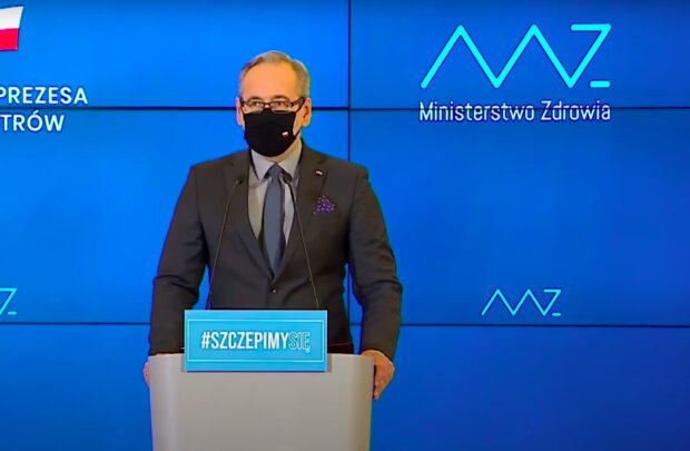 Minister zdrowia Adam Niedzielski / YouTube:  Onet News