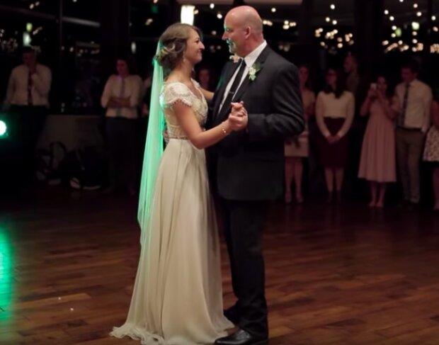 Taniec panny młodej i jej taty na weselu. Goście oniemieli z wrażenia