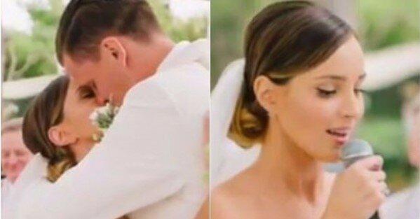 Topowy magazyn ślubny przypomina ślub Mariny i Wojtka Szczęsnego. Wystawne wesele zapiera dech w piersiach, niepublikowane dotąd zdjęcia