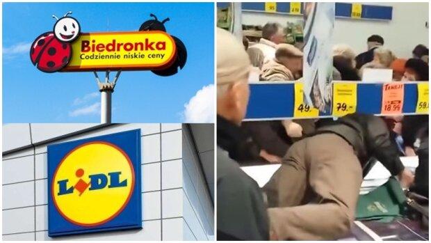 Klienci w popłochu udają się na zakupy. Niesamowite przeceny w dwóch sieciach supermarketów